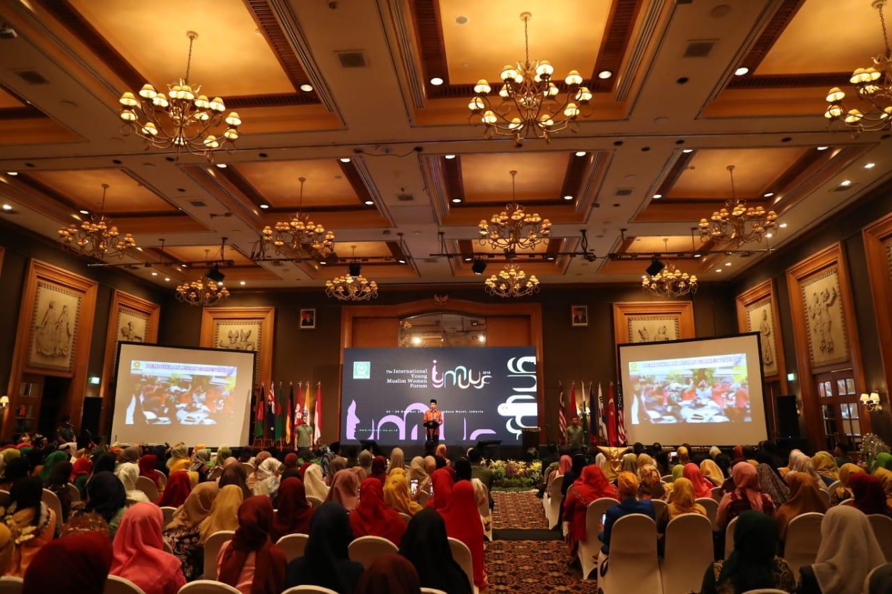 Sambutan pembukaan oleh Presiden Republik Indonesia Joko Widodo